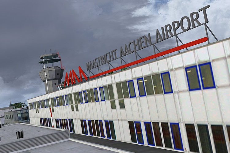 Aerosoft's Maastricht-Aachen update for Prepar3D v4