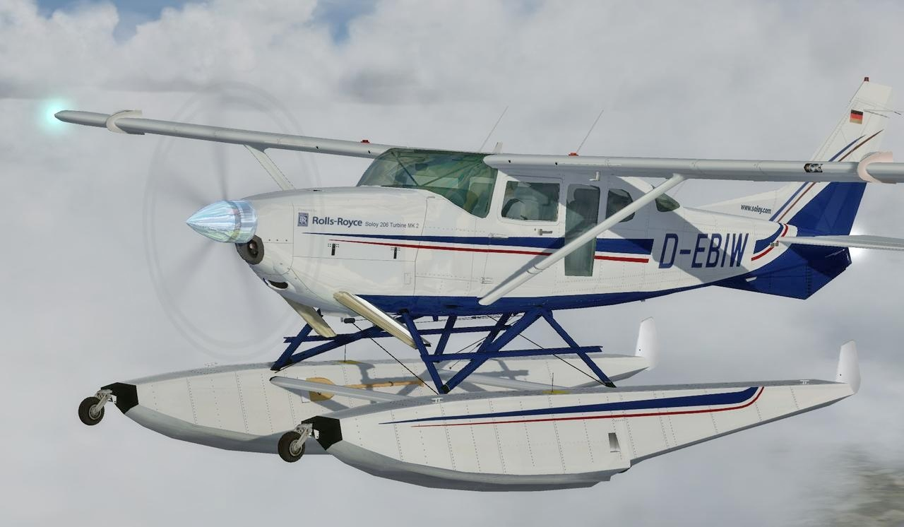 Cessna U206G Soloy Mark 2 for FSX and Prepar3D Image 1
