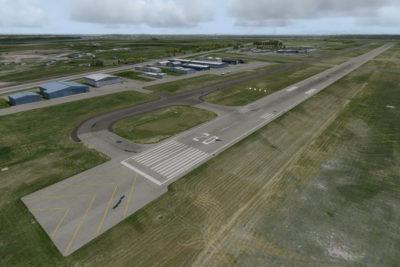 Glacier Park International Airport by Turbulent