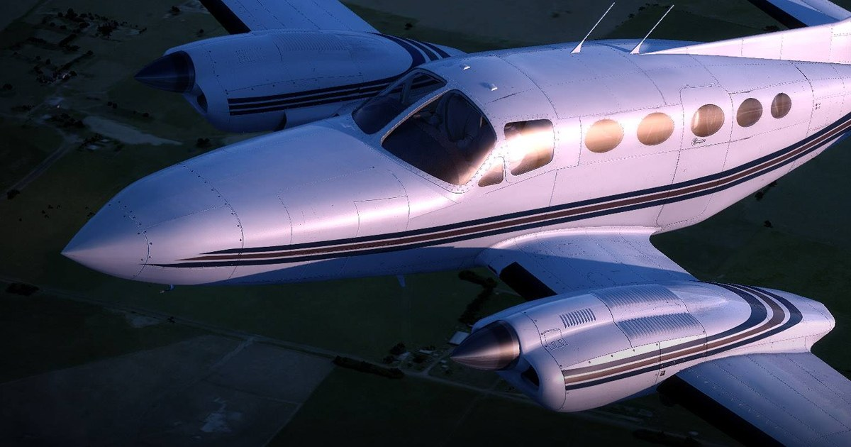 Alabeo Cessna C421 is coming soon