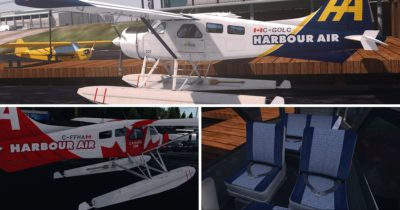 Cheesy Simulations Repaints of the Military Visualizations DHC-2 Beaver