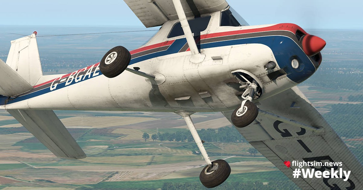 flightsim.news Weekly, Issue 3: Just Flight C152 for X-Plane 11