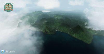 Flightsim Development Group (FSDG) St Lucia for FSX and Prepar3D