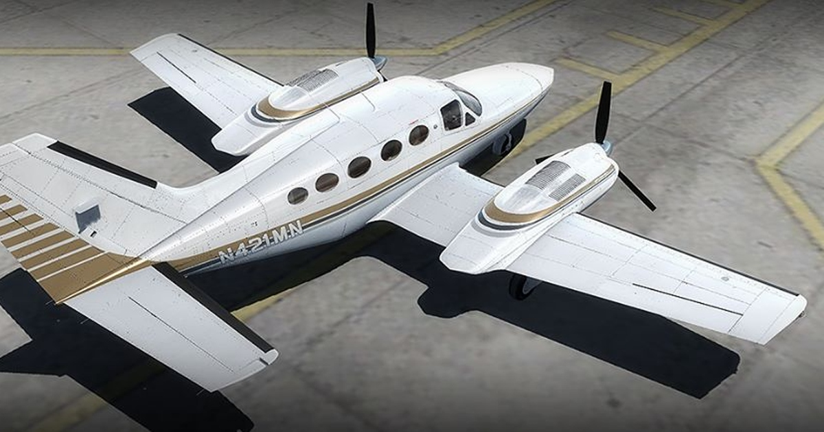 Alabeo Cessna C421 C Golden Eagle