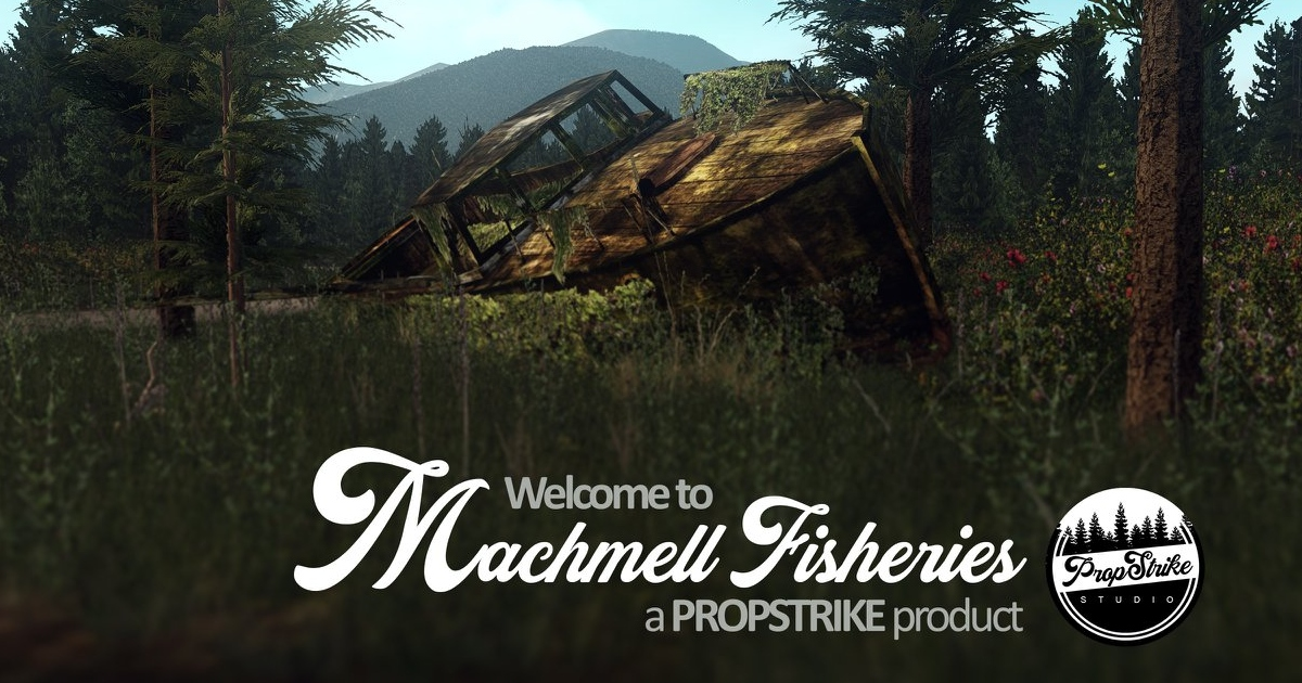 Machmell Fisheries by PropStrike Studio for X-Plane 11