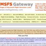 MSFS Gateway
