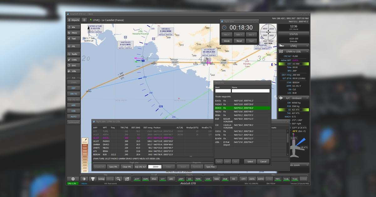 AivlaSoft Electronic Flight Bag v2