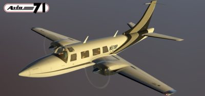 Piper Aerostar 601P for X-Plane 11 by Avia71