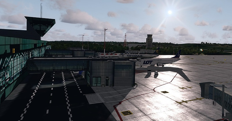 FlyDesign Krakow Airport for Prepar3D v4