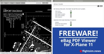 eBag - Freeware PDF and Image Viewer for X-Plane 11