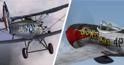 Just Flight released the Bristol Bulldog and the P-47D Thunderbolt by Aeroplane Heaven