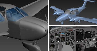 Just Flight Piper PA-28 181 Archer III and Beechcraft Duchess 76 announced