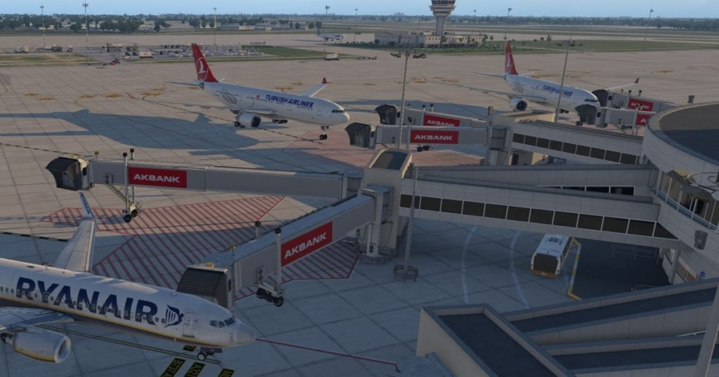 JustSim Antalya Airport for X-Plane 11 - Image 4