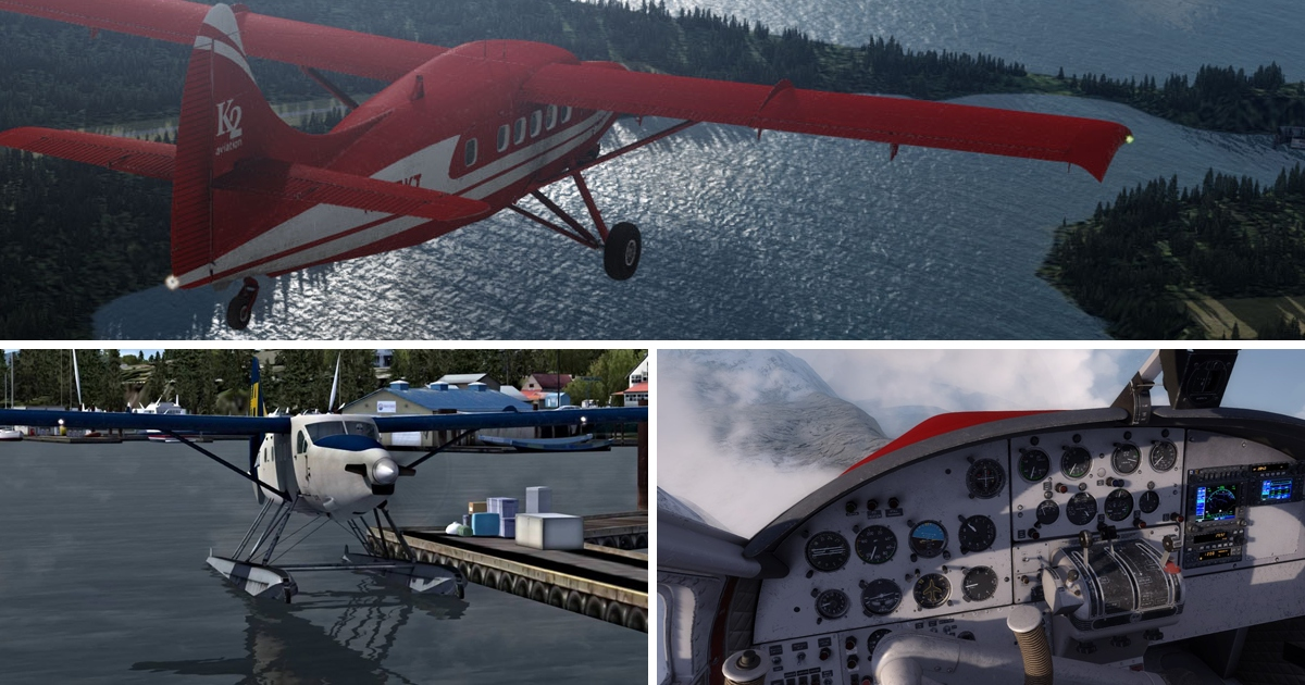 DHC-3T Turbo Otter by Military Visualizations (MILVIZ)