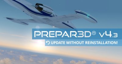 Prepar3D v4.3 - Update without reinstallation