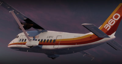 Carenado S360 Short 360 for Prepar3D