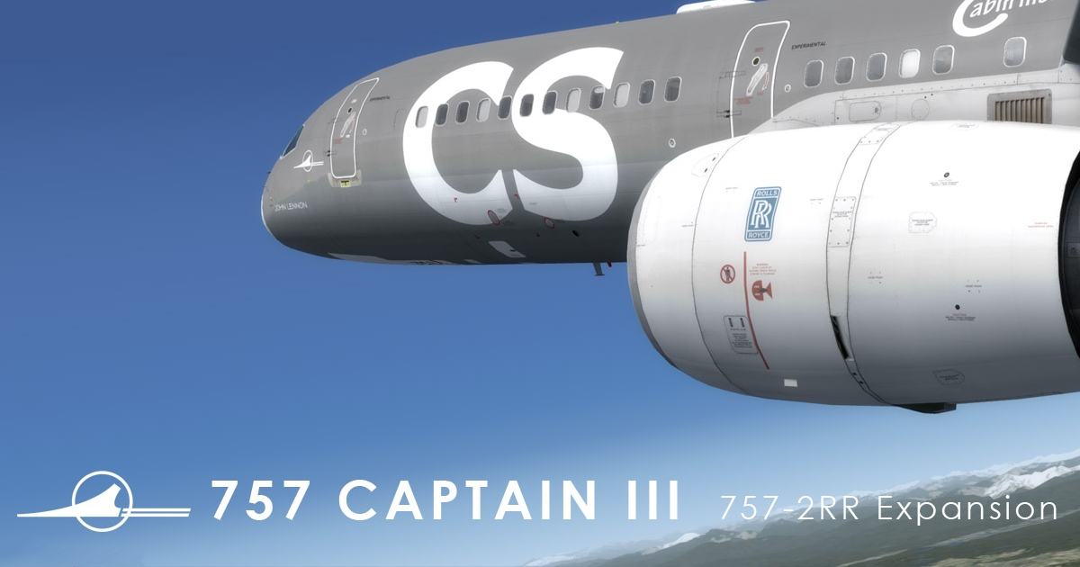 The 757-2RR Expansion for the Captain Sim 757 Captain III