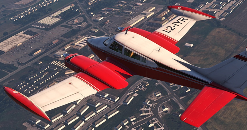Digital Replica Cessna 310L Image 1