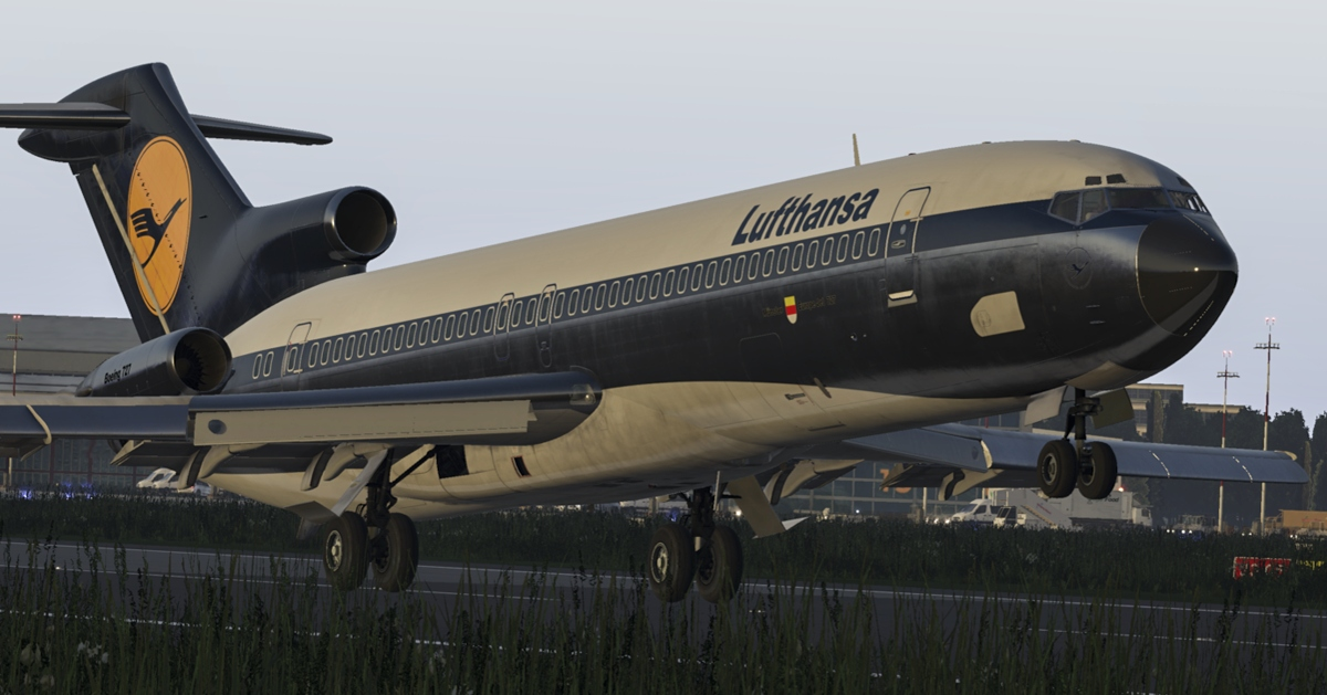 The 727 Series Professional v3 by FlyJSim