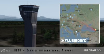 David Hilker of Georgian Virtual Airports is currently working on Kutaisi for Prepar3D