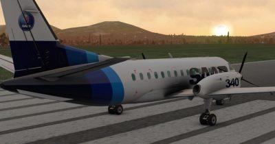 LES Saab 340A