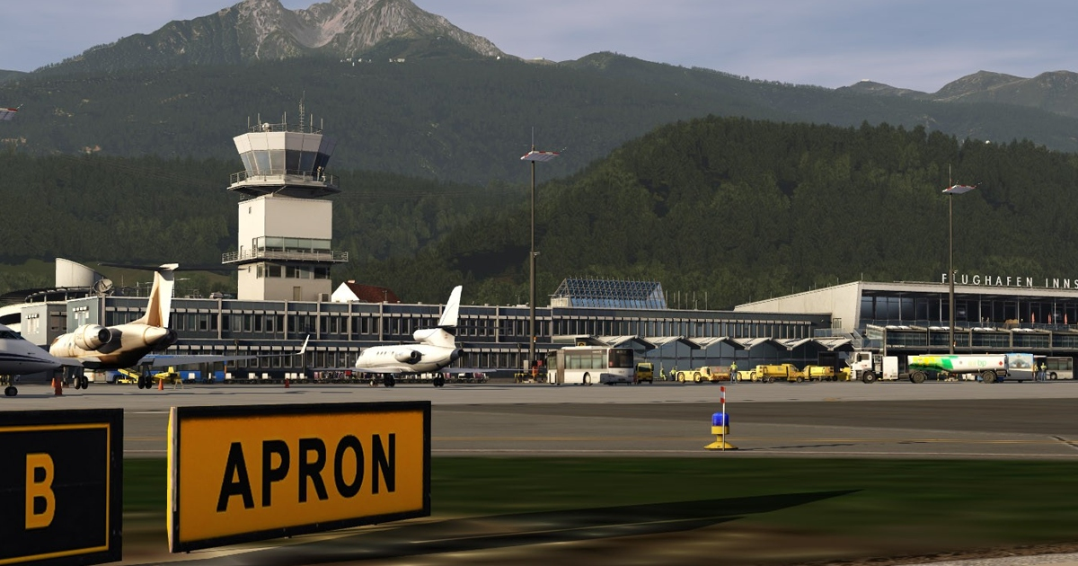 Orbx Summer Sale: LOWI Innsbruck in the Aerofly FS2 Flight Simulator
