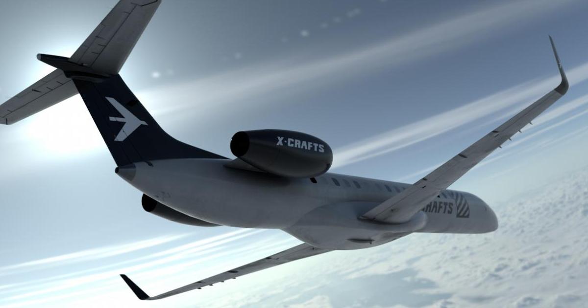 X-Crafts ERJ 145 announced