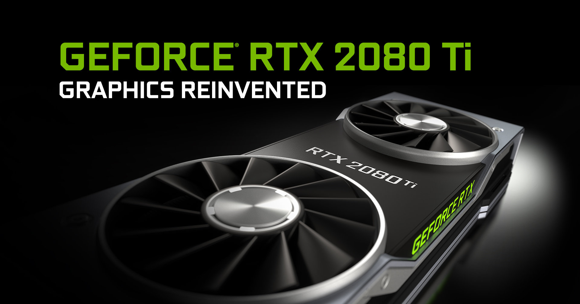 Now supports ray tracing: The NVIDIA-GeForce RTX 2080 Ti