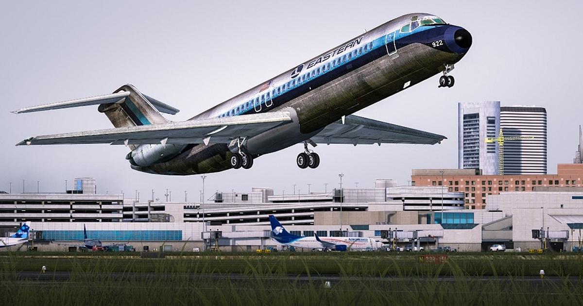 Flight1 Ultimate Airliners DC-9 and Super 80 MegaPack for Prepar3D v4