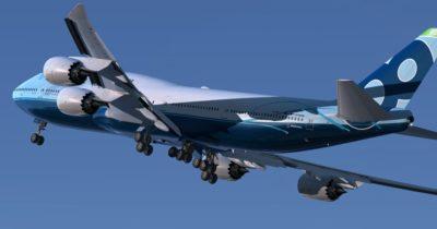 PMDG 747-8 released