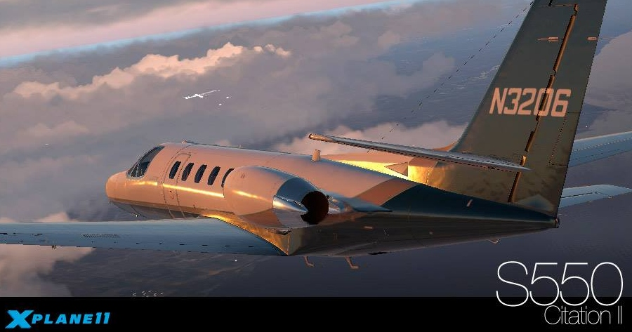 Carenado S550 Citation II for X-Plane 11