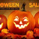 Flight Simulation Halloween Sales 2018