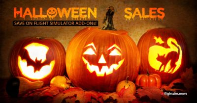 Flight Simulation Halloween Sales 2018
