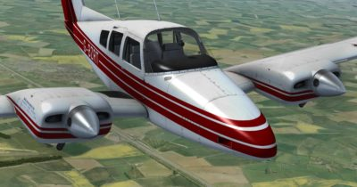 Just Flight Duchess Model 76 Exterior