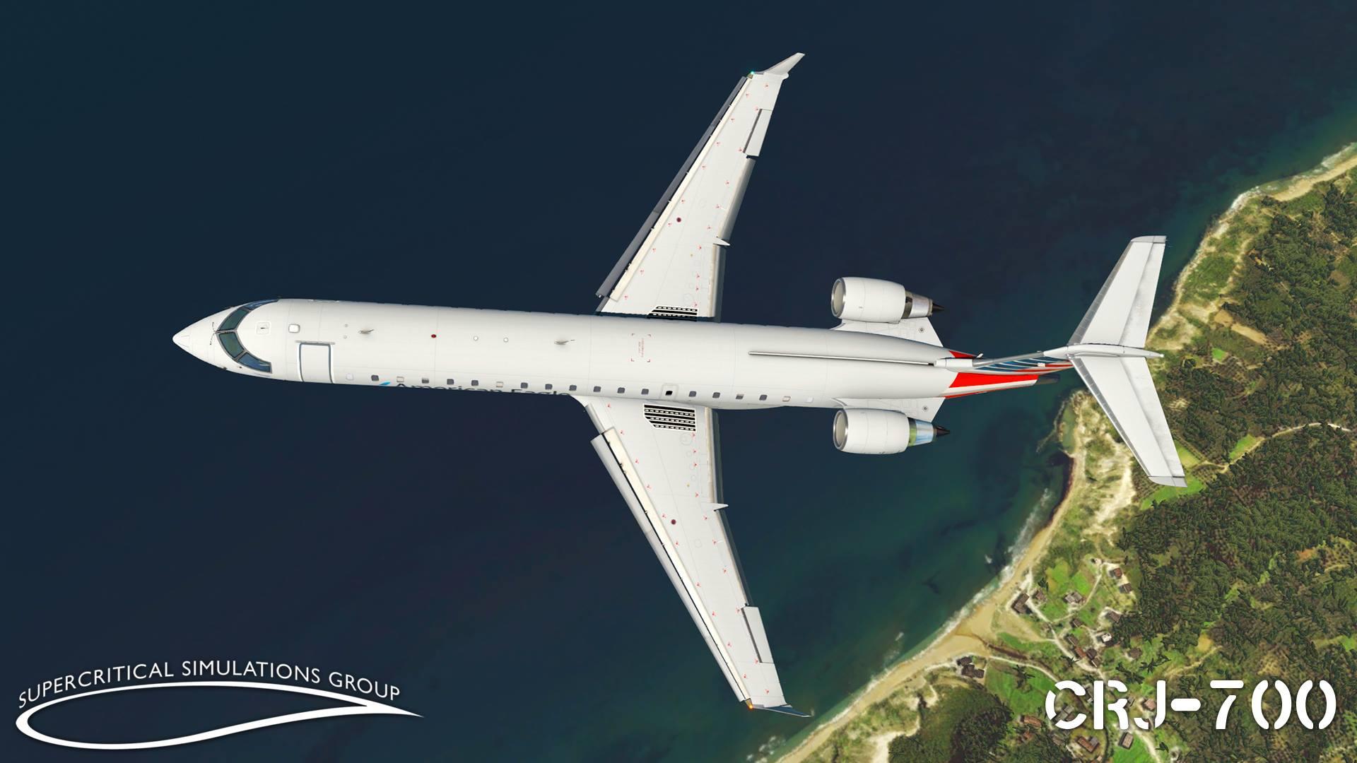 SSG CRJ-Series for X-Plane 11 with new previews - flightsim news