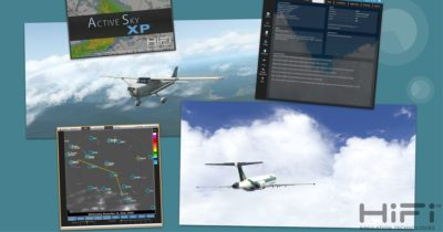 Active Sky XP for X-Plane 11 by Hifi Simulation Technologies