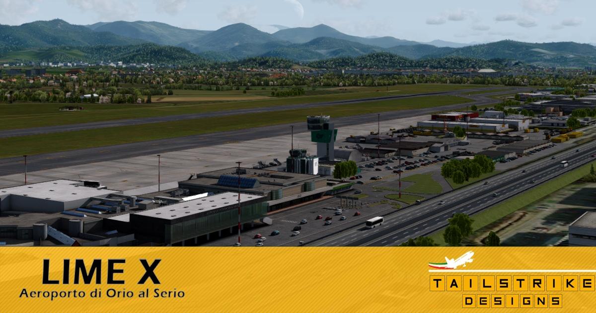 Aerosoft Bergamo Professional: LIME X by Tailstrike Designs
