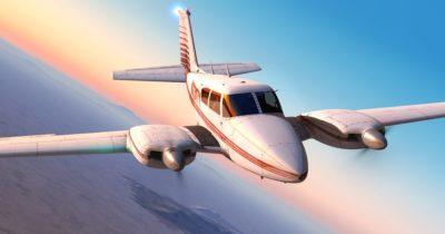 Milviz Twin Comanche: Piper PA-30
