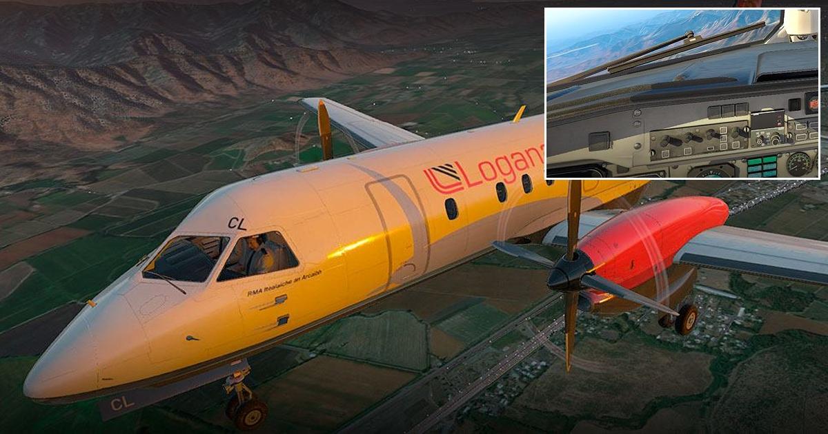 Carenado Saab 340 for X-Plane 11