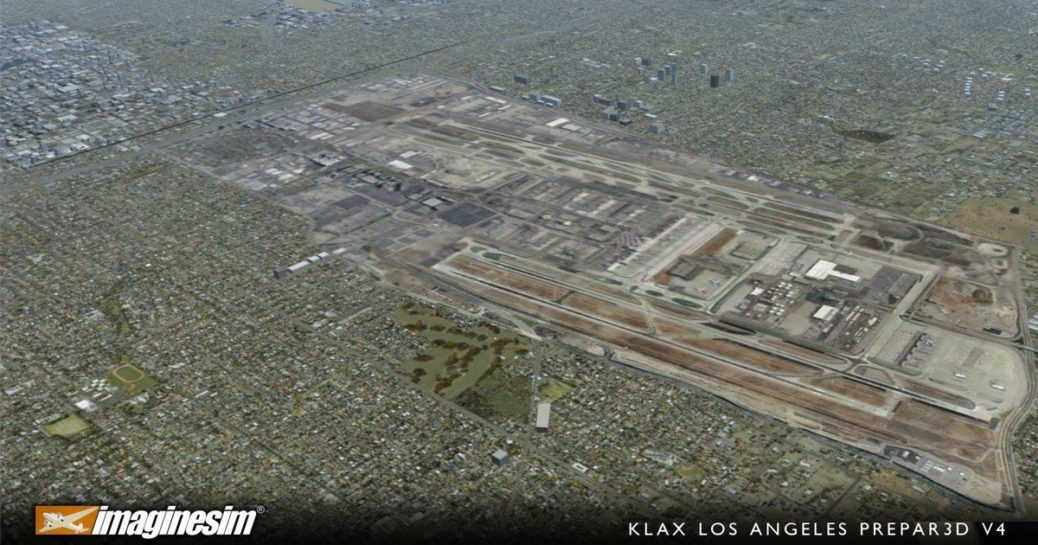 Imaginesim Los Angeles (KLAX/LAX)