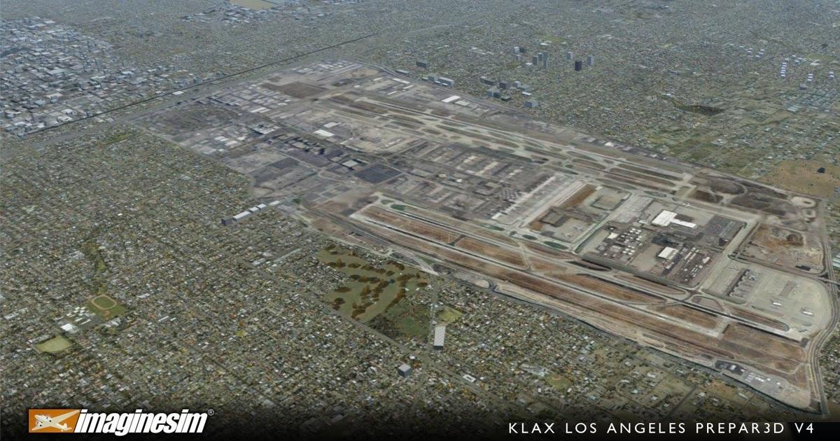 Imaginesim Los Angeles (KLAX/LAX)