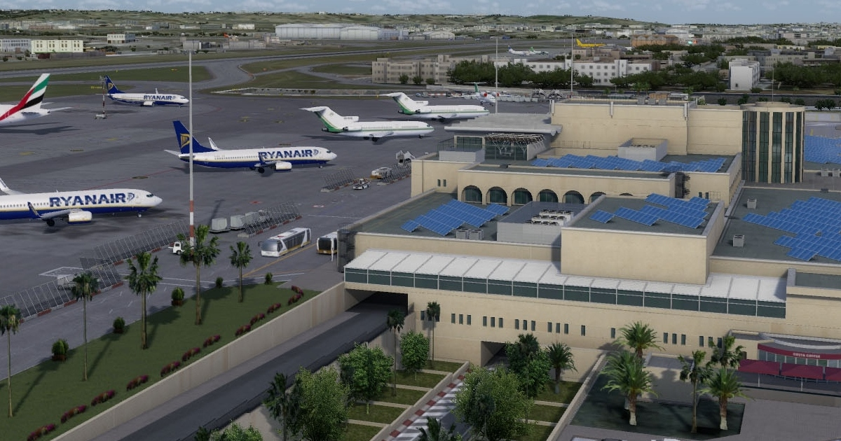 JustSim Malta released for Prepar3D v4