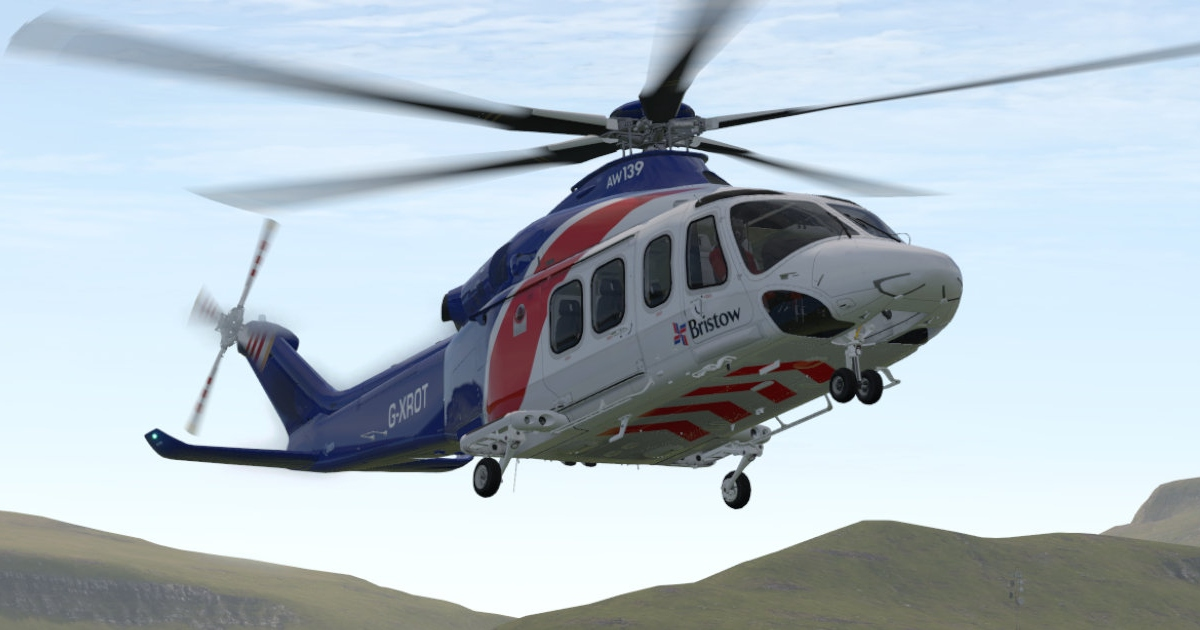 X-Rotors AW139 4.0 for X-Plane 11