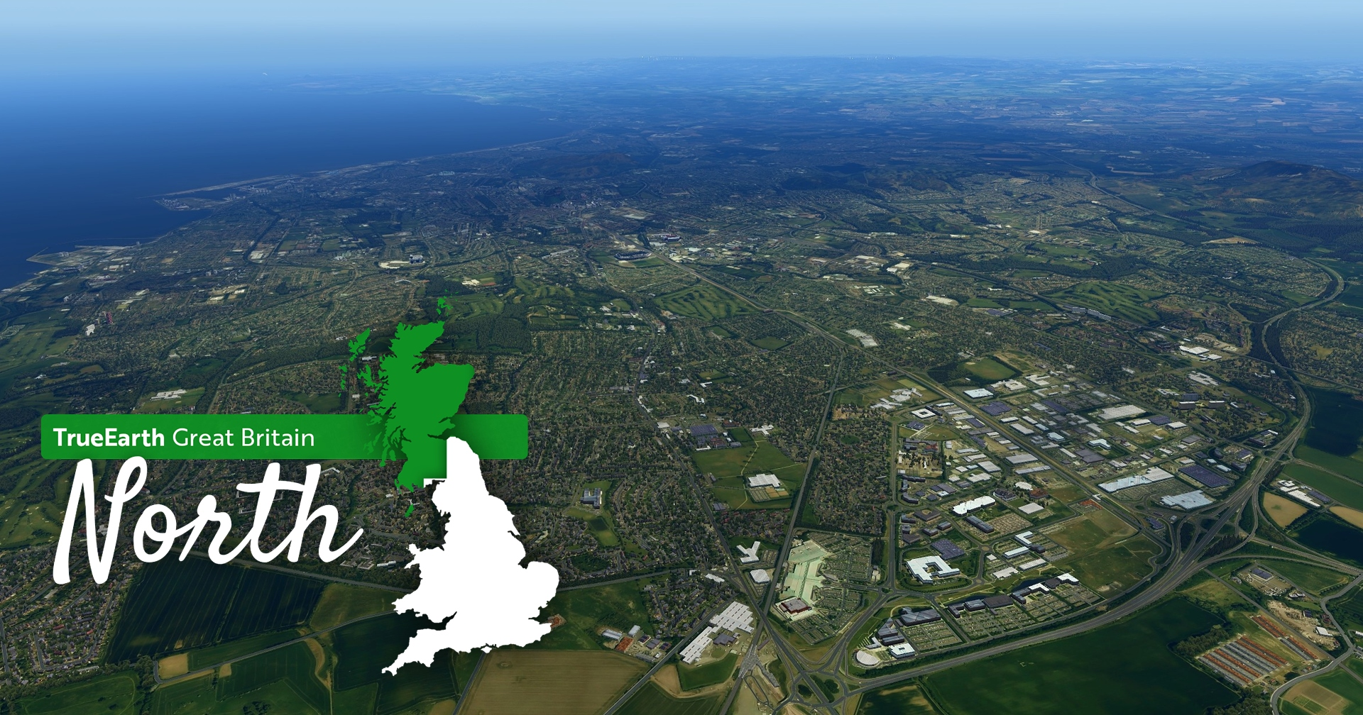 Orbx TrueEarth Great Britain North