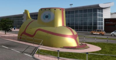 "Digital Design Liverpool ""John Lennon"" for Prepar3D v4 announced"