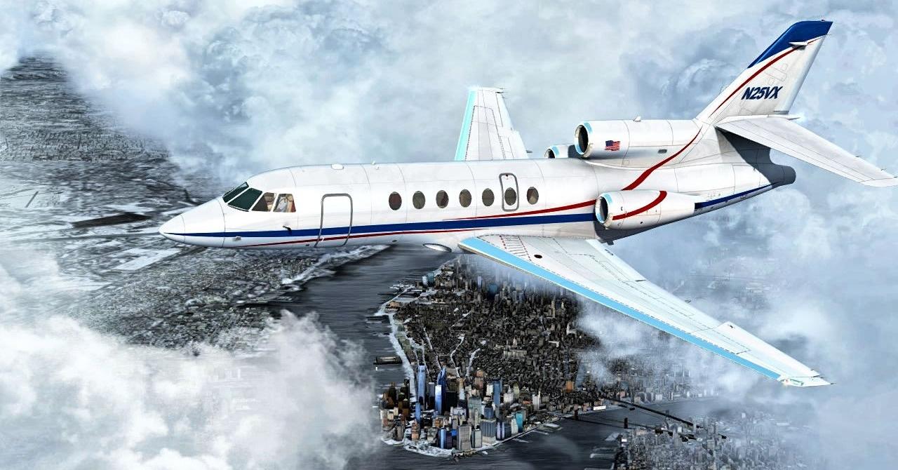Flysimware Falcon 50
