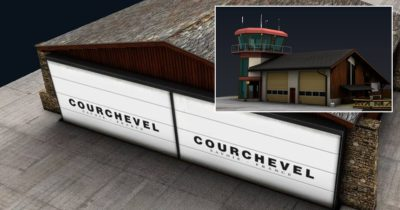 Gaya Simulations: Courchevel Altiport (LFLJ) announced for X-Plane 11