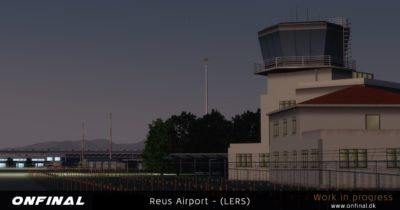 OnFinal Design Reus Airport announcement