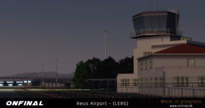 OnFinal Design Reus Airport announcement