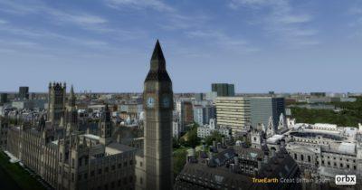 Orbx TrueEarth Great Britain South released for Prepar3D v4